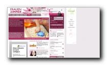 Frauen- und Gesundheitsportal mit Schwerpunkten Abnehmen, Diät, Ernährung - Frauenzimmer.de