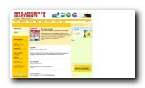 Gesundheits- und Apothekenportal der Neue Apotheken Illustrierten