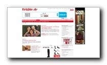 Gesundheitsbereich des Frauenmagazin brigitte.de