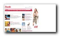 Gesundheitsbereich des Frauenmagazin freundin.de