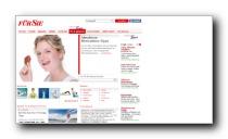 Gesundheitsbereich des Frauenmagazin fuersie.de