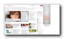 Gesundheitsbereich für Eltern und Kinder auf t-online.de