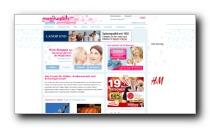 Gesundheitscommunity und Portal für Frauen und Mütter - Mamiweb.de