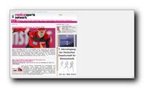 Gesundheitsmagazin mit Schwerpunkt Sportmedizin - MedicalSportsNetwork.de