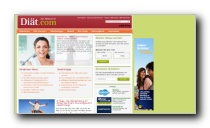 Gesundheitsportal mit dem Schwerpunkt Diäten und Abnehmen - Diät com