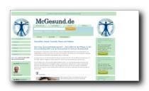 Gesundheitsportal mit Schwerpunkt Lifestyle, Kosmetik, Fitness und Wellness - McGesund.de