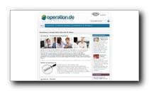 Gesundheitsportal zu Operationen und Fachärzten - operation.de