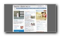 Portal des Ärztemagazins Ärzte Zeitung