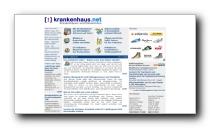 Verzeichnis aller Krankenhäuser und Rehakliniken in Deutschland - krankenhaus.net